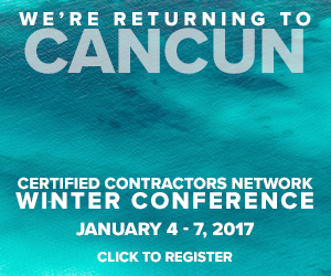 2017 winter conference certified contractors network for Contractors network