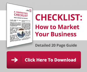Download the contractor's marketing checklist!